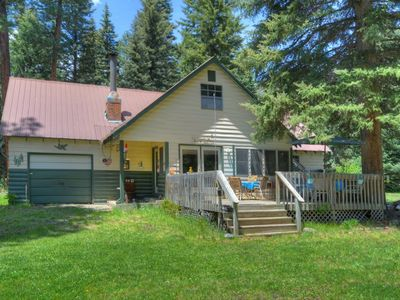Photo for Mountain Lake Cabin Style Home at Vallecito Resort