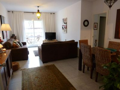 Photo for One of the best located apartments in Conil.Sea views from every room. With WiFi