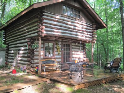 Hawks Nest Log Cabin