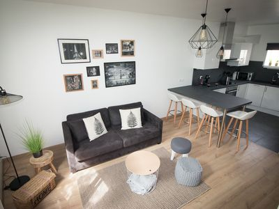 Photo for 52 sqm duplex apartment in the heart of Pontoise