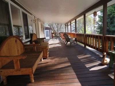 Morning coffee on the front deck perhaps?