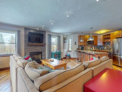 Photo for Ski-in/out condo w/shared pool, hot tub & sauna-balcony & fireplace