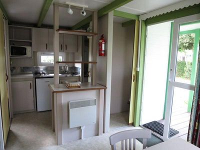 Photo for Camping Both of Orouet *** - Mobile Home Club 3 Rooms 4/5 People