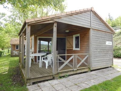 Photo for Private cottage 3 bedrooms 8 people in a campsite