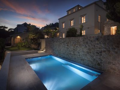 Photo for Villa Orti - Dubrovnik,  a beautifully restored 19th century property