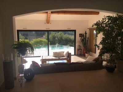 Photo for Villa 200 m2 on 5000 m2 of pine forest sea view combining luxury and calm