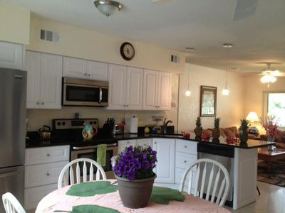 If you love to cook you'll enjoy this full kitchen with plenty of counter space