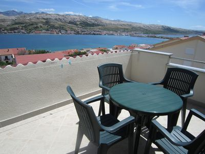 Photo for Sea view and barbecue - Apartment Sanja 3
