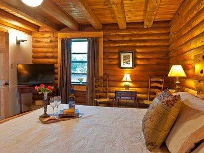 Photo for Cozy Log Cabin (Apt.) on Lookout Mountain