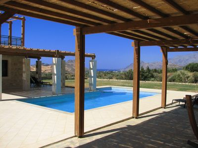 Photo for Villa Helios in Plakias, spacious villa with large pool and close to the beach.