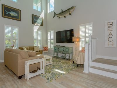 Photo for Beautiful 4 Bedroom Beach House with Giant Swim Spa