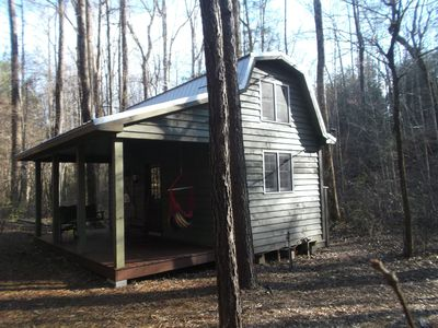 Photo for TINY HOUSE IN THE WOODS
