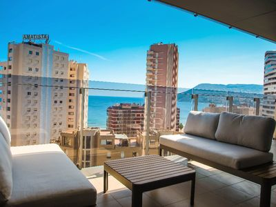 Photo for Agueda - sea view apartment in Calpe