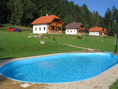 Photo for Holiday house with outdoor pool