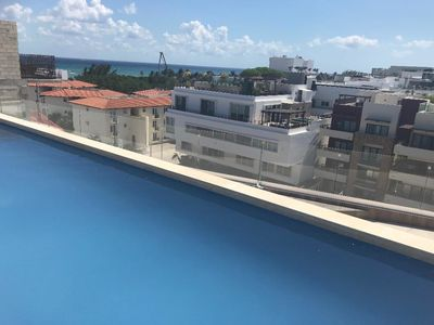 Photo for Ocean View Penthouse , 2 Rooftop Pools - Perfect For Family!