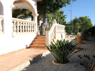 Photo for Moraira - Villa 6 persons private pool - outdoor dining WIFI
