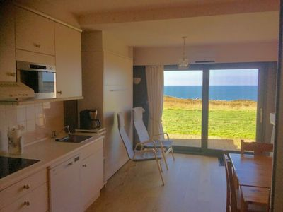 Photo for Quiet and cozy studio 2 ** facing the sea Wimereux - Fantastic view -