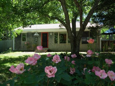 Photo for Adorable 2 BR Cottage with A/C,  a few minutes walk from Campground Beach