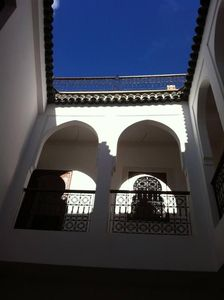Photo for Charming private Riad in Medina with garden and pool (staff included)