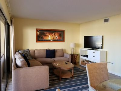 Photo for Firethorn 510 - 2 Bedroom Condo with Private Beach with lounge chairs & umbrella provided, 2 Pools, Fitness Center and Tennis Courts.