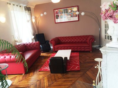 Photo for Apt. of 87 m2 Bright with a lot of charm In 2 steps of the canal St Martin