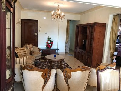 Photo for Classy excellent  well furnished full equipped apartment at new maadi