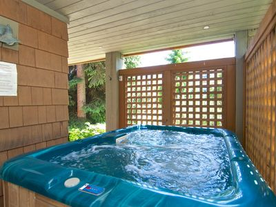 Photo for Private Hot Tub-Recently Renovated-WiFi-Pool-Village-Sleeps 6