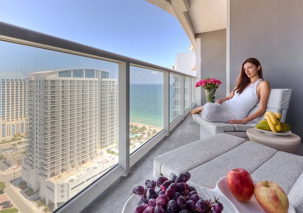 W Hotel Fort Lauderdale 2406 Private Two Bedroom Penthouse Residences At W Fort 432769