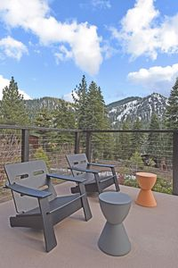 Photo for Modern Architectural Home - Large Patio, Sunken Cedar Hot Tub, BBQ!