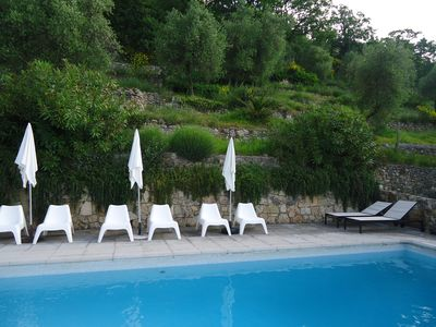 Photo for Luxury villa, private swimming pool. close to all amenities, Côte d'Azur and Mountain.