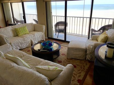 Photo for Penthouse unit, 3 BR, 2 BA, with incredible GULF views