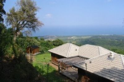 Photo for Wooden detached house with stunning views of the sea: ideal resort