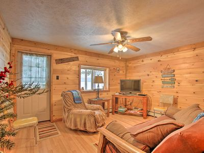 Photo for NEW! Interlochen Cabin < 1 Mile from Green Lake!