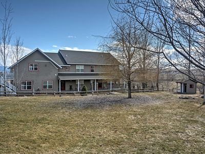 Photo for Lake-View Polson Home on 4 Private Acres w/Studio!