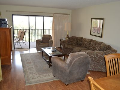 Photo for BOOK WITH US! Midnight Cove II Bayside –5th fl by lagoon free wi-fi, central ac, beach access.