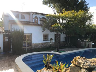 Photo for VERY QUIET VILLA AND ONLY 5KM FROM THE BEACH TO PASS IN FAMILY AND FRIENDS
