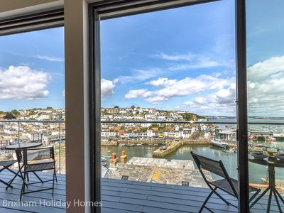 Photo for Seascape - Brixham -  Magnificent sea views from ultra modern 2 bedroom apartment with a WOW factor