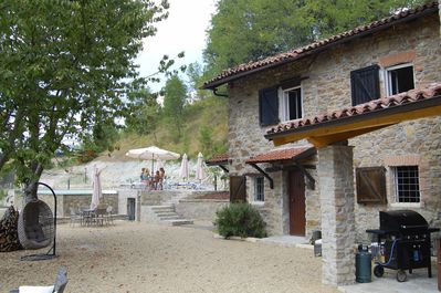 Everyone has an own place around Casa San Gentile