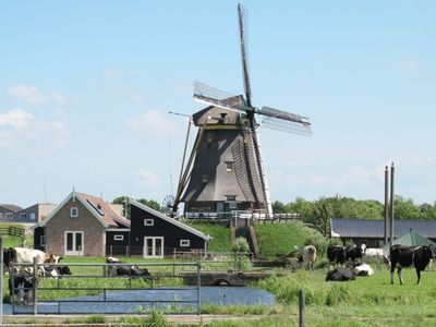 Photo for Beautiful, country style cottage near the windmill, polder and windmill view