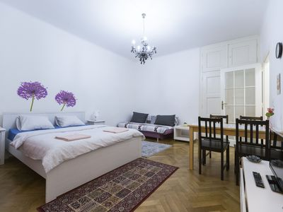 ★CENTER Studio Apartment by Wenceslas Square★