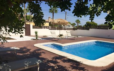 Photo for Detached villa with private pool. Balconies