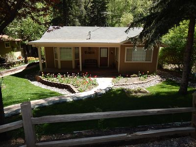 Photo for Gorgeous Canyon home on Oak Creek for a relaxing getaway - Creekside Oasis