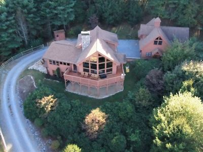 Photo for Mountaineer Manor- views, 3 acres fenced in yard, pool table