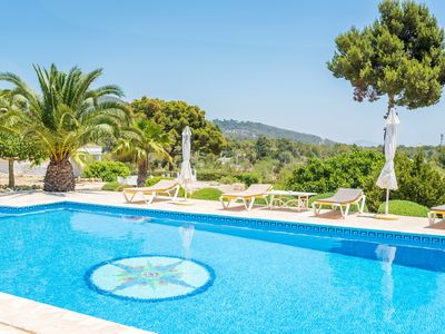 Photo for 2 bedroom Villa, sleeps 4 with Pool, Air Con and Walk to Beach & Shops