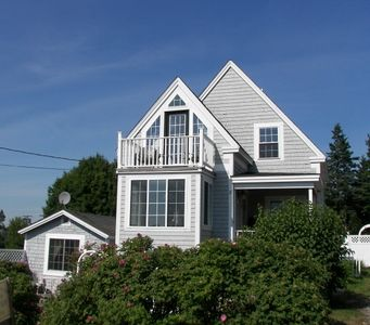 Photo for Luxury Cottage with Spectacular Panoramic Ocean Views near Acadia Nat'l Park