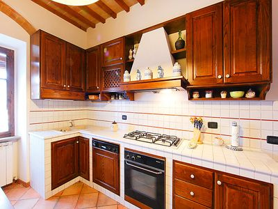 Photo for Vacation home Le Buche in Castellina in Chianti - 8 persons, 3 bedrooms