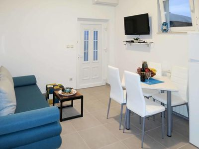 Photo for One bedroom apartment with air-conditioning Arbanija (Čiovo) (A-16478-c)