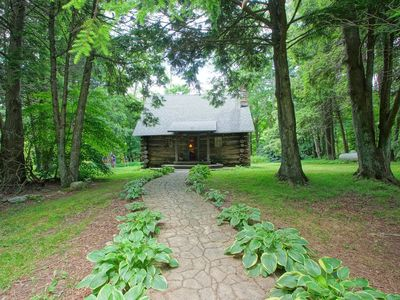 Photo for 1848 Log Cabin btw Boone/Banner Elk - s'mores/fire pit/breakfast