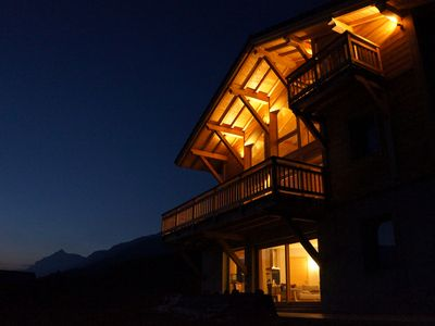 Photo for Chalet nine panoramic view 8 people