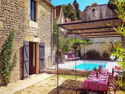 Photo for Stylish renovated villagehouse with private swimming pool garden and lovely view
